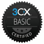 3CX Basic Certification Badge