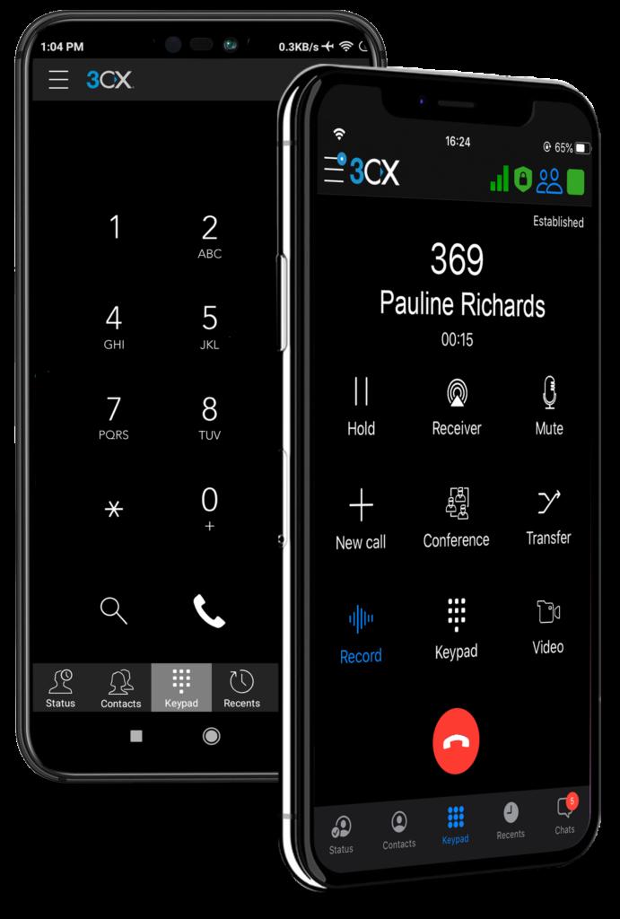 3CX Phone App